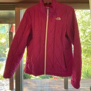 Northface Puff Jacket Hot Pink